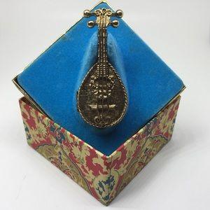 Vintage Avon Mandolin Solid Glace' Collectible